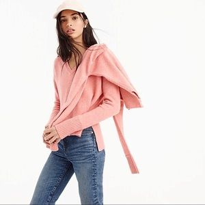 J. Crew V-neck sweater in yarn Size M